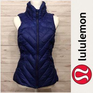 [ Lululemon ] Down Town Vest Pigment Blue